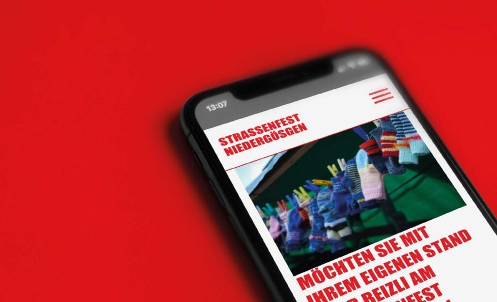 180grad Strassenfest Niedergoesgen Website mobile